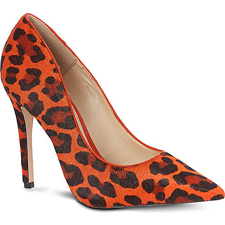 CARVELA Astro ponyskin court shoes (Orange