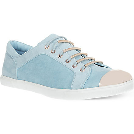 CARVELA Lollipop suede trainers (Blue