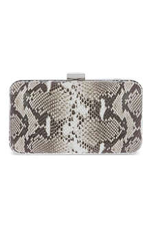 KG BY KURT GEIGER Dany snake box clutch