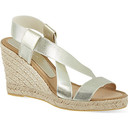 CARVELA Kot wedge sandals (Gold