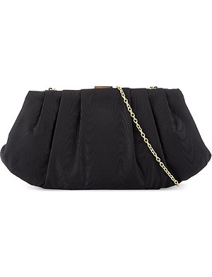 NINE WEST Bridal pleated clutch
