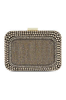 CARVELA Boss embellished clutch