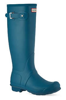 HUNTER Original tall vinyl wellies