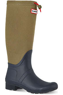 HUNTER Original Tour Canvas wellies