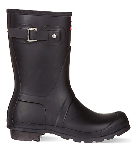 HUNTER Original short wellies (Black