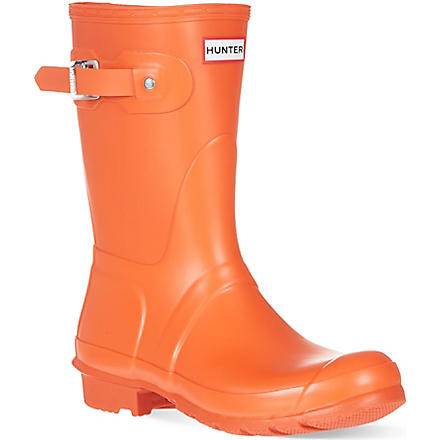 HUNTER Original short wellies (Orange