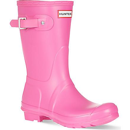 HUNTER Original short wellies (Pink