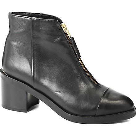 KG BY KURT GEIGER Spencer leather ankle boots (Black