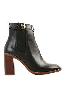 KG BY KURT GEIGER Sebastien leather ankle boots