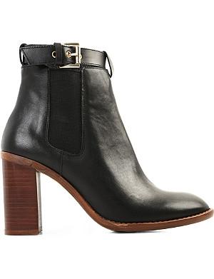 KG KURT GEIGER Sebastien leather ankle boots