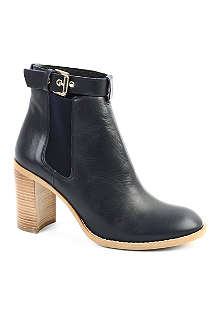 KG KURT GEIGER Sebastien leather ankle boots