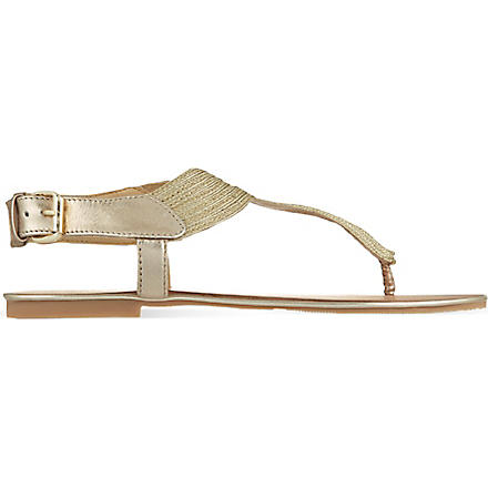 CARVELA Klassic sandals (Gold