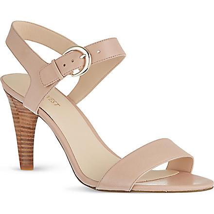NINE WEST Marybeth leather sandals (Nude