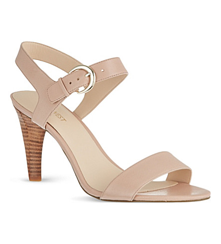 NINE WEST Marybeth leather sandals (Nude
