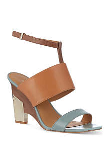 NINE WEST Neeway leather sandals