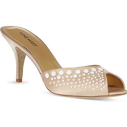 NINE WEST Olympia sandals (Champagne
