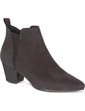 KG KURT GEIGER Saffron leather ankle boots