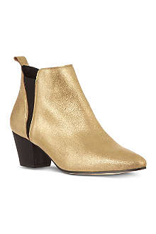 KG KURT GEIGER Saffron leather ankle boots