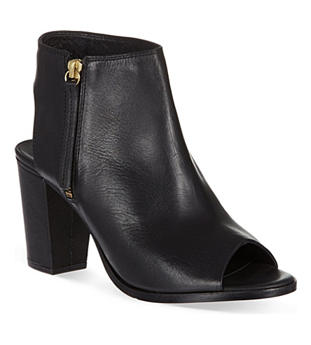 KG KURT GEIGER Nelson leather shoe boots (Black