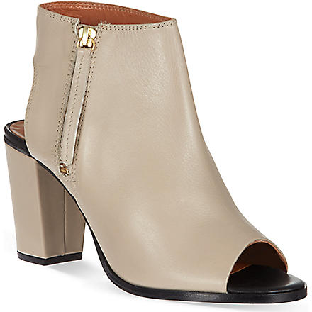 KG KURT GEIGER Nelson leather shoe boots (Taupe