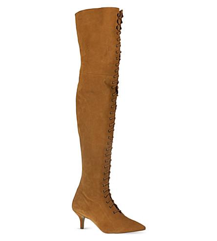 KG KURT GEIGER Watson boots (Rust