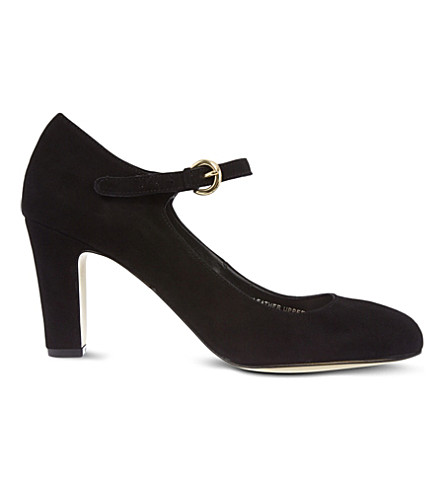 CARVELA Alkaline suede courts (Black