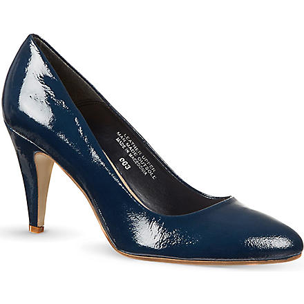 CARVELA Acid patent court shoes (Navy