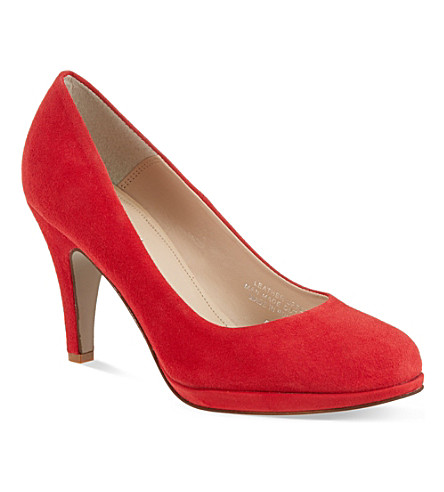 CARVELA Alas suede courts (Red/other