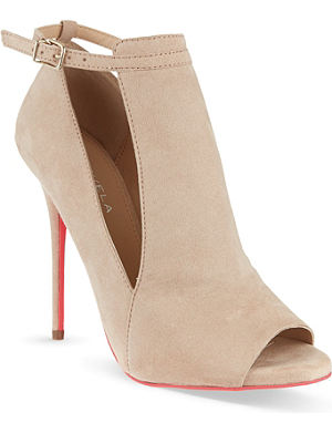 CARVELA Glance suede courts
