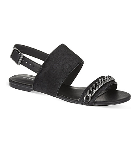 KG KURT GEIGER Magic sandals (Black