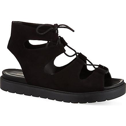 KG KURT GEIGER Natalie platform sandals (Black