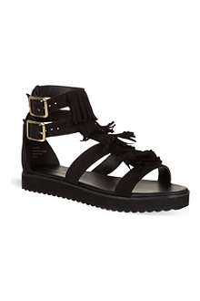 KG BY KURT GEIGER Molly fringed sandals