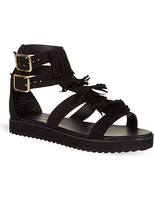 KG KURT GEIGER Molly fringed sandals