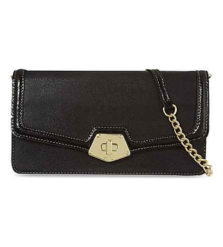 NINE WEST Faelynn clutch (Black