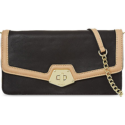 NINE WEST Faelynn clutch (Blk/other