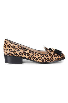 CARVELA Laura leopard loafer shoes