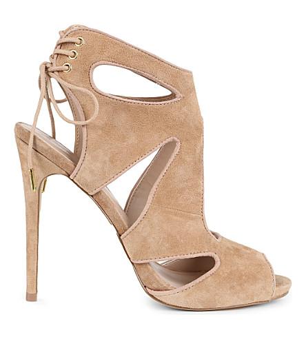 KG KURT GEIGER Hattie cut-out sandals (Nude