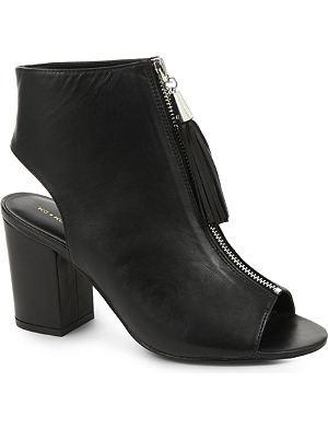 KG KURT GEIGER Seville peep-toe ankle boots