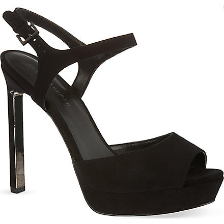 KG KURT GEIGER Hazel sandals (Black