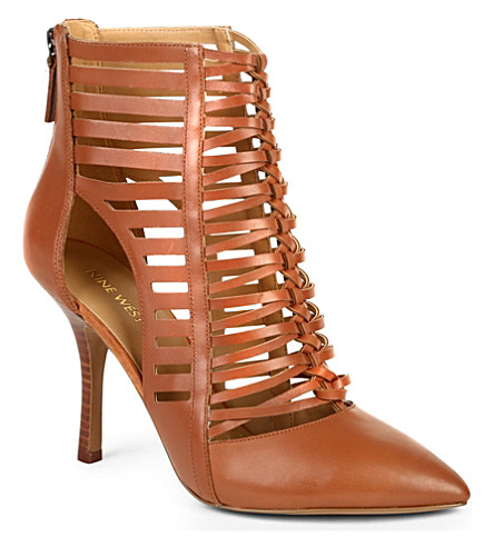 NINE WEST Bessy ankle boots (Brown