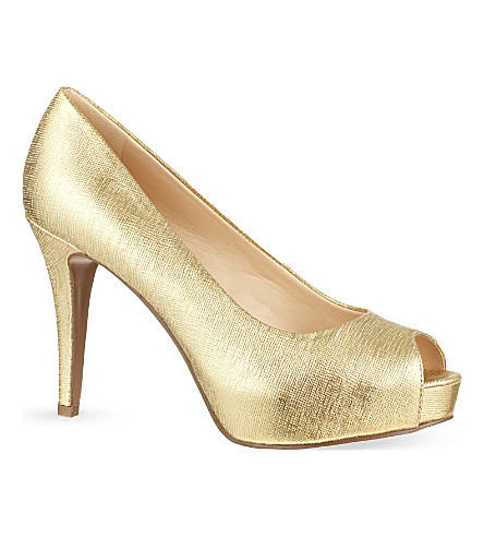 NINE WEST Camya20 court shoes (Gold