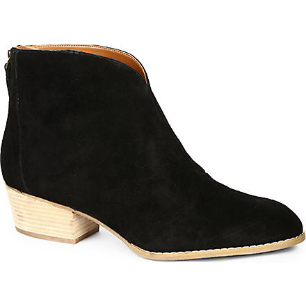 NINE WEST Jarrad suede ankle boots (Black