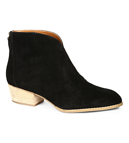 NINE WEST Jarrad suede ankle boots (Black