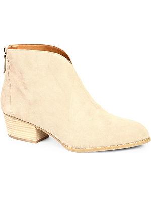 NINE WEST Jarrad suede ankle boots
