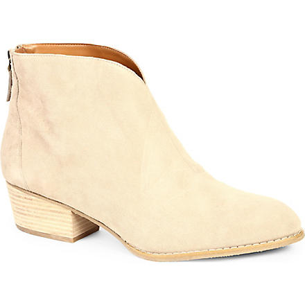 NINE WEST Jarrad suede ankle boots (Taupe