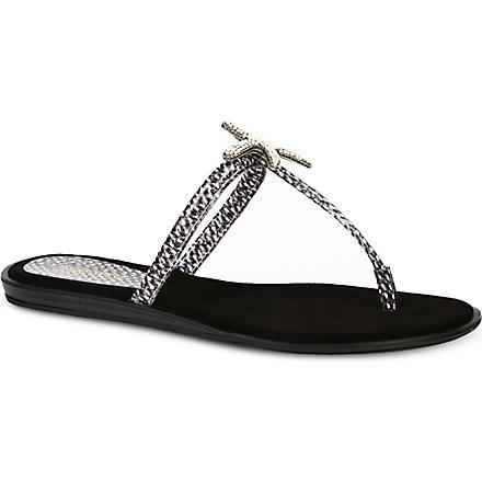 NINE WEST Valmiki sandals (Grey/d.cmb
