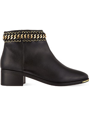 KG KURT GEIGER Speed leather ankle boots