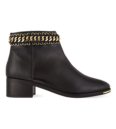 KG KURT GEIGER Speed leather ankle boots (Black