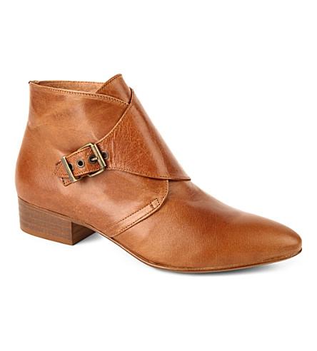 KG KURT GEIGER Sandra ankle boots (Tan