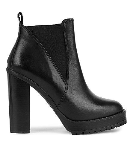 KG KURT GEIGER Skye leather ankle boots (Black